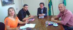 Tiago Albano conquista recursos para poço artesiano e tubulações para o município no Instituto das Águas em Curitiba