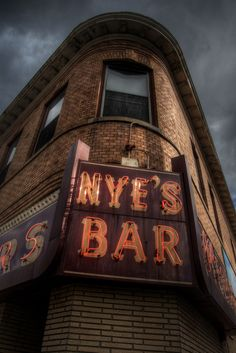 Neon sign at Nye's Polonaise Room in NE Minneapolis.
