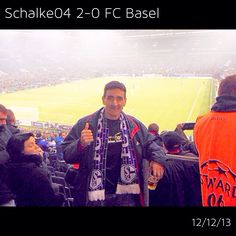 Where in the world is the Fieldhouse? In Gelsenkirchen (Germany) to see #Schalke04 reach the knockout round of the #ChampionsLeague! #lovethegame #soccer #futbol