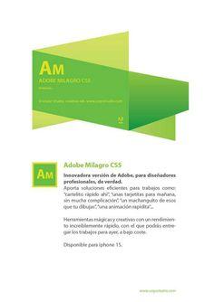 #AdobeMilagros #creatividad