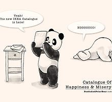«Catalogue Of Happiness And Misery» de Panda And Polar Bear