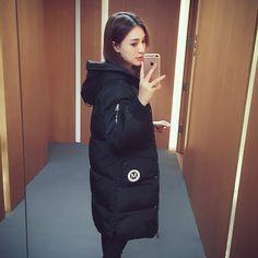 2016冬季新款韩版宽松加厚连帽面包棉服女装中长款棉衣外套棉袄潮