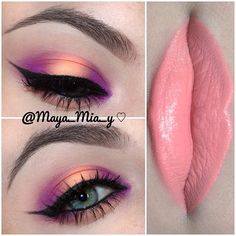 .@maya_mia_y | More prom looks Purple and peach Purple shade Hypercolor by @Jenn L Cirou... | Webstagram - the best Instagram viewer