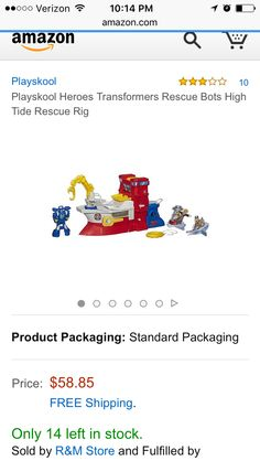Rescue bots high tide rig