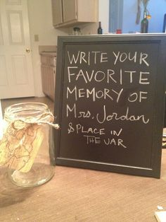 Going away party. Write your favorite memory.
