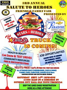 Salute to Heroes -- Old Town Temecula -- Saturday, Sept. 14