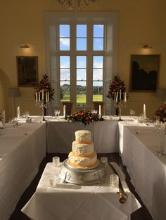 Official site of Kinnitty Castle Hotel, Ireland. Located in the beautiful countryside of Birr, Offaly. Castle Hotels In Ireland, Fairytale Castle, Wedding Dinner, Wednesday, Wedding Venues, Table Settings, Restaurant, Weddings, Wedding Reception Venues