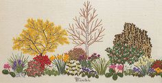 Diana Lampe『Winter Garden』