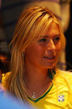 Sharapova in Brazil.