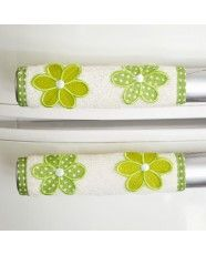 Pegador de porta de geladeira bordado Sewing Hacks, Sewing Tutorials, Sewing Crafts, Sewing Projects, Projects To Try, Applique Patterns, Applique Designs, Sewing Patterns, Fridge Handle Covers