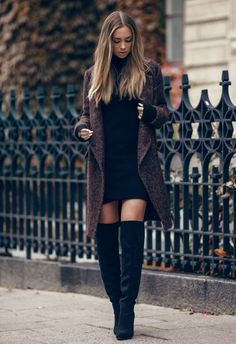 Ideas fashion trends winter outfits for 2019 Trendy Dresses, Nice Dresses, Casual Dresses, Casual Outfits, Cute Outfits, Country Outfits, Office Outfits, Urban Chic Fashion, Look Fashion