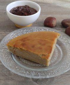 Ma petite cuisine gourmande sans gluten ni lactose: Moelleux aux marrons à la sauce au chocolat sans gluten et sans lactose