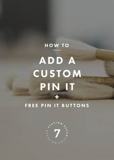 Add a custom Pinterest pin-it button to your WordPress site & grow your Pinterest traffic! Plus free pin-it button downloads to increase pins from your site