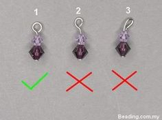 How to make a perfect wire loop, from http://www.beading.com.my/blog/how-to-make-a-perfect-simple-loop/