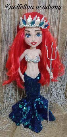 Crochet Doll Pattern, Crochet Dolls, Crochet Patterns, Crochet Fairy, Yarn Dolls, Dress Up Dolls, Homemade Toys, Doll Tutorial, Stuffed Toys Patterns