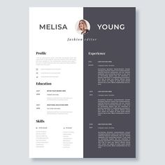 Modern Day Resume Creative And Professional Resume Template In Microsoft Wordcv With .