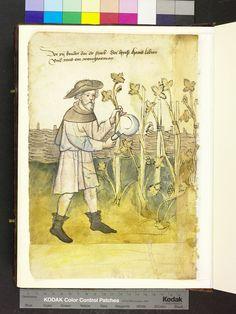 1425 sickle and fencing  Die Hausbücher der Nürnberger Zwölfbrüderstiftungen