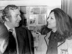 Nizar Qabbani and his Iraqi wife Balqis Al-Rawi in Beirut in the late 1970s.