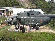(783) HELICOPTERO MI17 DEL EJERCITO DEL PERU - YouTube