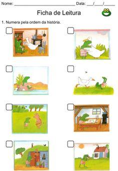 Story Sequencing, Knowledge, Teaching, Writing, Education, Comics, Children, 1, School Stuff