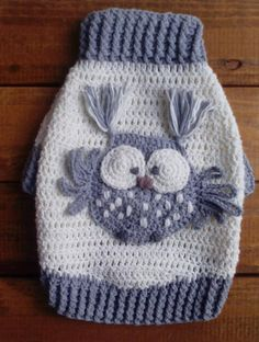 Dog Sweater Small Dog Sweater Cotton dog sweater Crochet