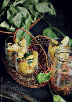 Roasted Potatoes with Chimichurri Sauce...it was a photo Challange..  @Sandra