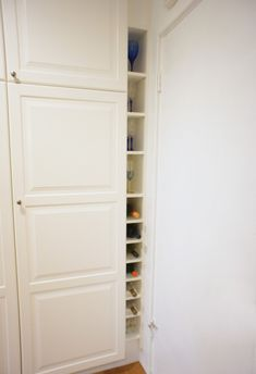 IKEA BILLY wine rack - It would be cool to incorporate wine storage into an entertainment center if we eventually build one.