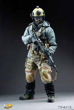 U.S. Navy SEAL cold weather uniform/kit