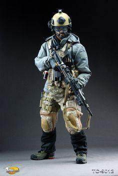 U.S. Navy SEAL cold weather uniform/kit
