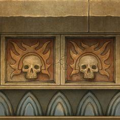 ArtStation - Warhammer Online: Age of Reckoning, Matthew Tinari Texture Drawing, 3d Texture, Tiles Texture, Texture Painting, Game Textures, Textures Patterns, Warhammer Online, Hand Painted Textures, Panel Art