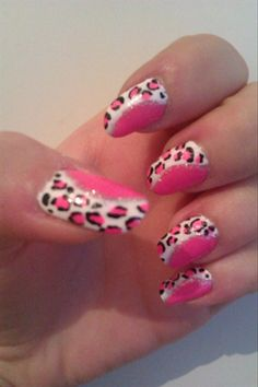 Fantastic Pink Nails by Melinna from Nail Art Gallery
