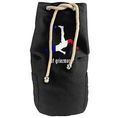 BIBIKING Antoine Griezmann Canvas Beam Port Drawstring Sports Basketball Shoulders Backpack Bags