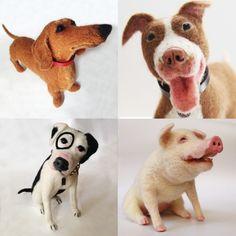 Custom Order Needle Felted Pets | Artizan Made