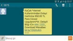 5875'ten Gelen Sahte Mesaj - Wasabee Free SMS | Güncel Haber