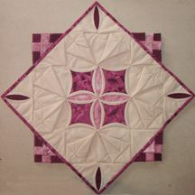 Cathedral Window Quilt Variations
