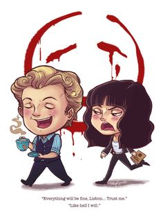 Is it wrong that I only really pay attention when Red John is involved? Probably, yes.   The Mentalist - proving that those Americans still make the best TV...