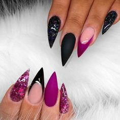Ideas Of Purple Nails You Are Bound To See #naildesignsjournal #nails #purple