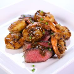 the chew | Recipe  | Clinton Kelly's Steak And Shrimp Duo