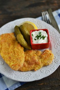 Snitele de pui la cuptor New Recipes, Cooking Recipes, Healthy Recipes, Healthy Meal Prep, Healthy Eating, Romania Food, Chicken Schnitzel, Good Food, Yummy Food