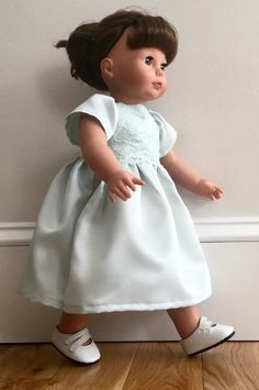 The Little Princess Coordinating Dress - fits American Girl doll 18 inch 6cecd5428270