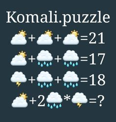 Math Puzzles Brain Teasers, Maths Puzzles, Brain Teasers With Answers, Kids Math Worksheets, Basic Math, Education Humor, Math For Kids, School Resources, Outdoor Art