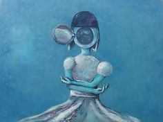 Oil painting of the Daughter of Gears / Bryn Oh Im Blue, Art Supply Stores, Surreal Art, Cool Art, Awesome Art, Macabre, Beautiful Words, Disney Characters, Fictional Characters