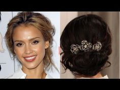 BellaSugarTV: http://bellasugar.com  Facebook: http://facebook.com/BellaSugar  Twitter: http://twitter.com/popsugartv     A great, effortless hairstyle for a Summer wedding or special event is a romantic, loose updo. Plus, it's equally easy to create in just a few steps. Check out this video to see how we did it. (PS: we added a final touch usin...