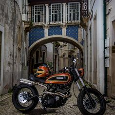 Born for fun - RocketGarage - Cafe Racer Magazine Harley Davidson Street Glide, Harley Davidson Bikes, Yamaha Cafe Racer, Cafe Racers, Cafe Racer Magazine, Motorcycle Images, Classic Car Insurance, Moto Style, Vintage Motorcycles