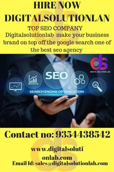 Digitalsolutionlab a reliable seo service provider in India.Best seo consultant to use latest seo technique and tactics to optimize your websites and give excellent solutions for ranking.