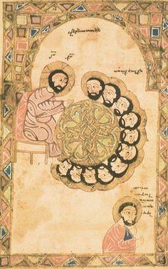 "A ""Last Supper"" Armenian icon"