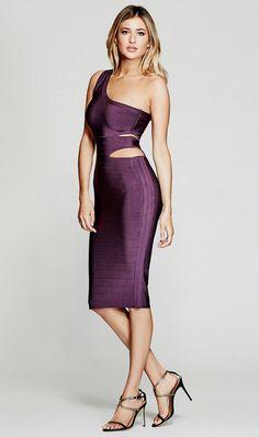 The Almira Bandage Dress | MARCIANO.com