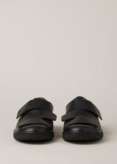 80ac2280b1f65 Acne Studios Triple Lo Sneaker (Black) Acne Studios
