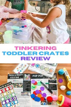 If you are looking for quality hands-on activities for your toddler or preschooler (but don't have time to plan and track supplies down), Tinkering Toddler Crates is the subscription box for you! Keep reading for our full review! *Tinkering Toddler Crates sent us a sample box to facilitate this review. All opinions are my own.*