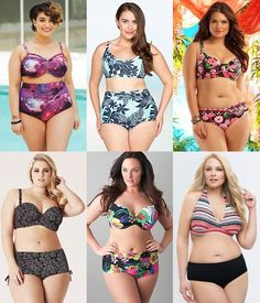 6a9b6ad70c135 Choosing the most flattering plus size swimsuit is pretty easy and fun.  Lots of varieties are out there offering large sizes up to and surely